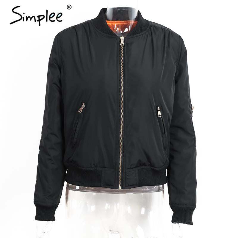 bomber Army down jacket