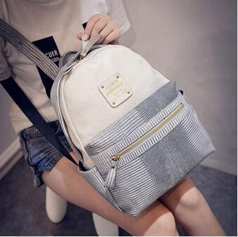 Fashion Leather Backpack - awashdress