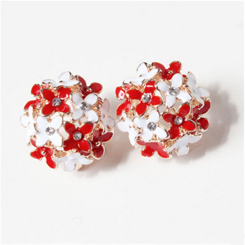 Floral Earrings - awashdress