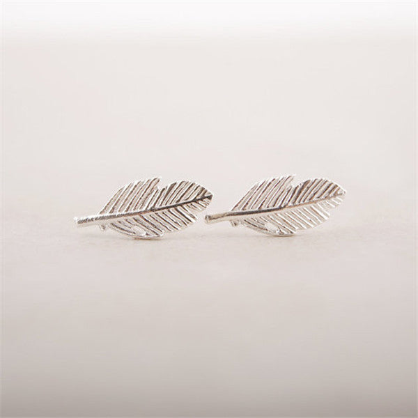 Vintage Leaf Earrings