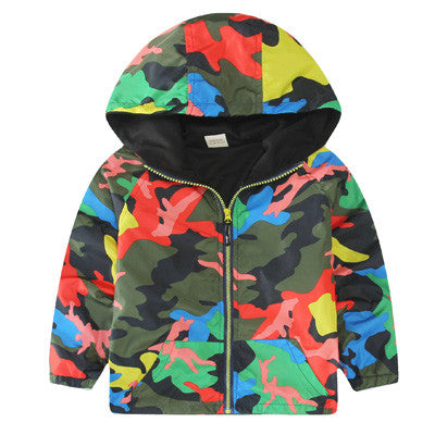 Hooded Sport Outerwears 1-8Y - awashdress