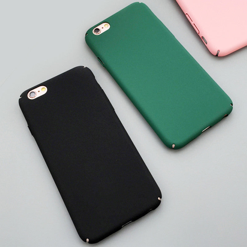 Ultra Slim Case For iphone 5S Case For iphone 5 6 6S Plus Colorful Frosted Hard Scrub Back Cover Phone Cases