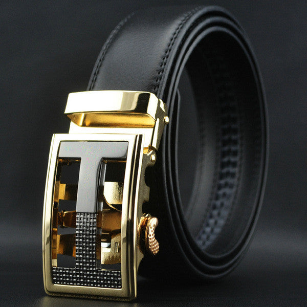 Men's Strap Male Metal Automatic Buckle