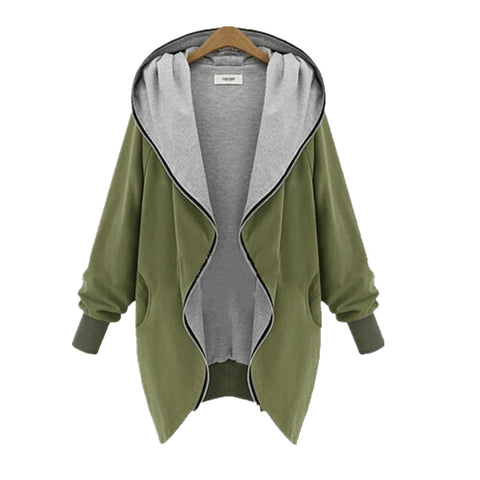 Casual Hooded Jackets - awashdress