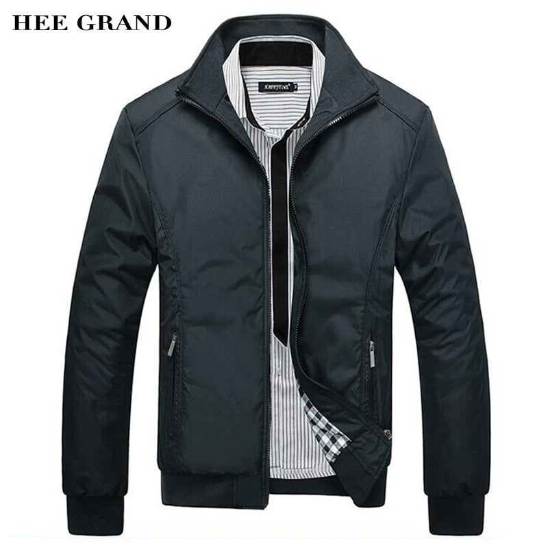Stand Collar Slim Casual Jacket