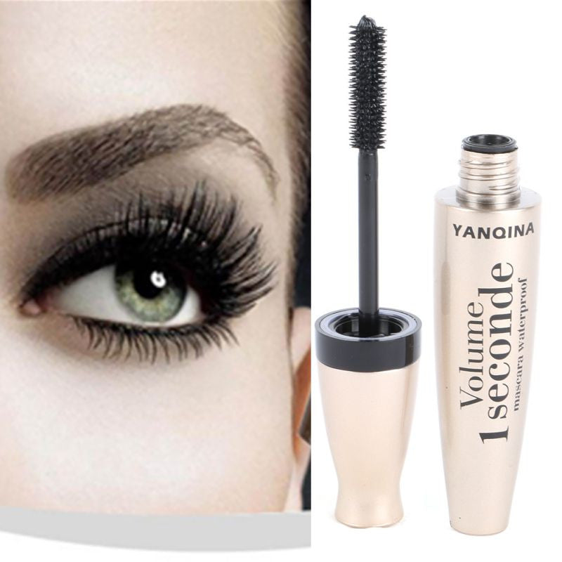 3D Fiber Mascara Long Black Lash Waterproof - awashdress