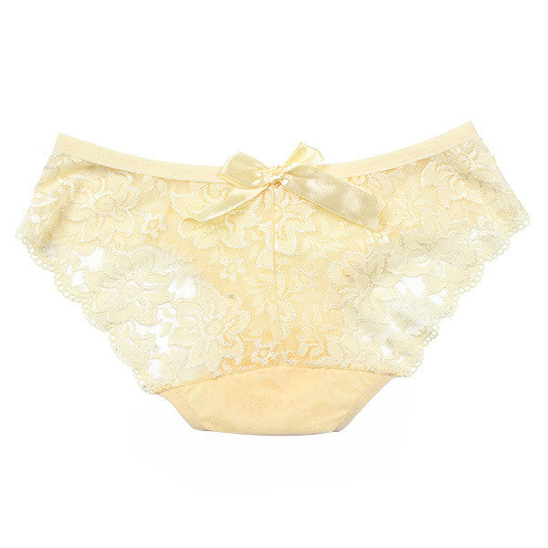 Lace Briefs Hollow Panty - awashdress