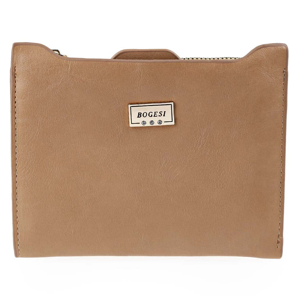 Designer Slim Wallet Thin Zipper - awashdress