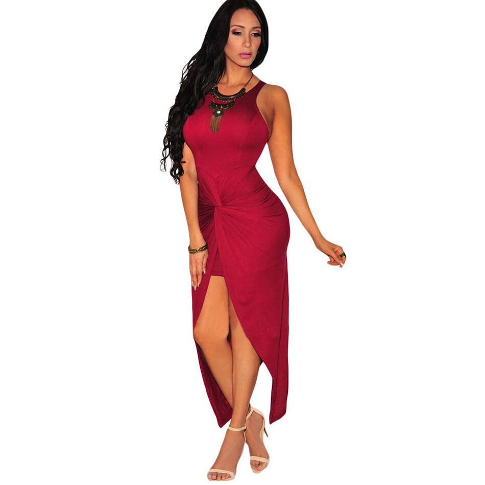 Bodycon High Split Party dress