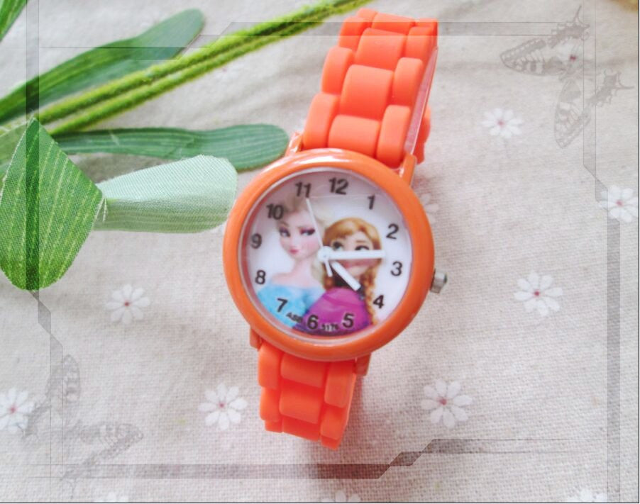 Princess Elsa Anna Watches Fashion Girl - awashdress