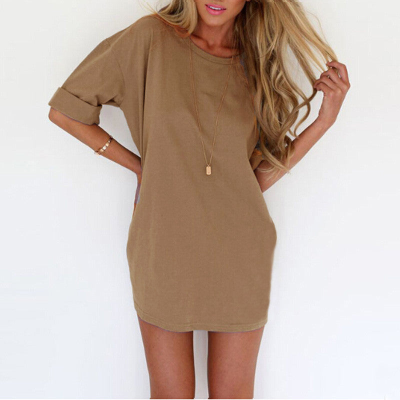 Short Sleeve Mini Dress