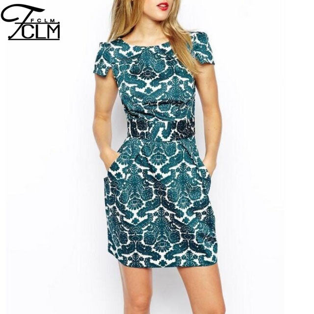 Retro Zipper Elegant Dress