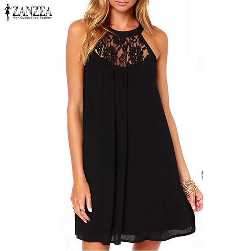 Lace Dress Mini Dress - awashdress