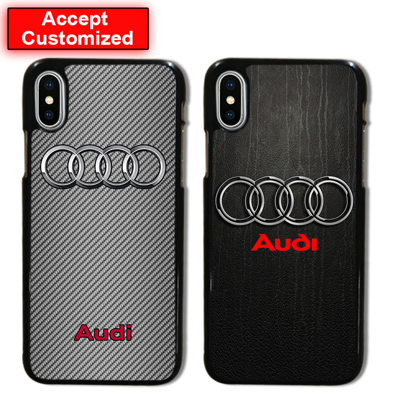 Shell Case Cover for Samsung Galaxy Note 8 S6 S7 Edge S8 S9 Plus For Audi Print For iPhone 10 X XS Max XR 5 5S SE 6 6S 7 8 Plus