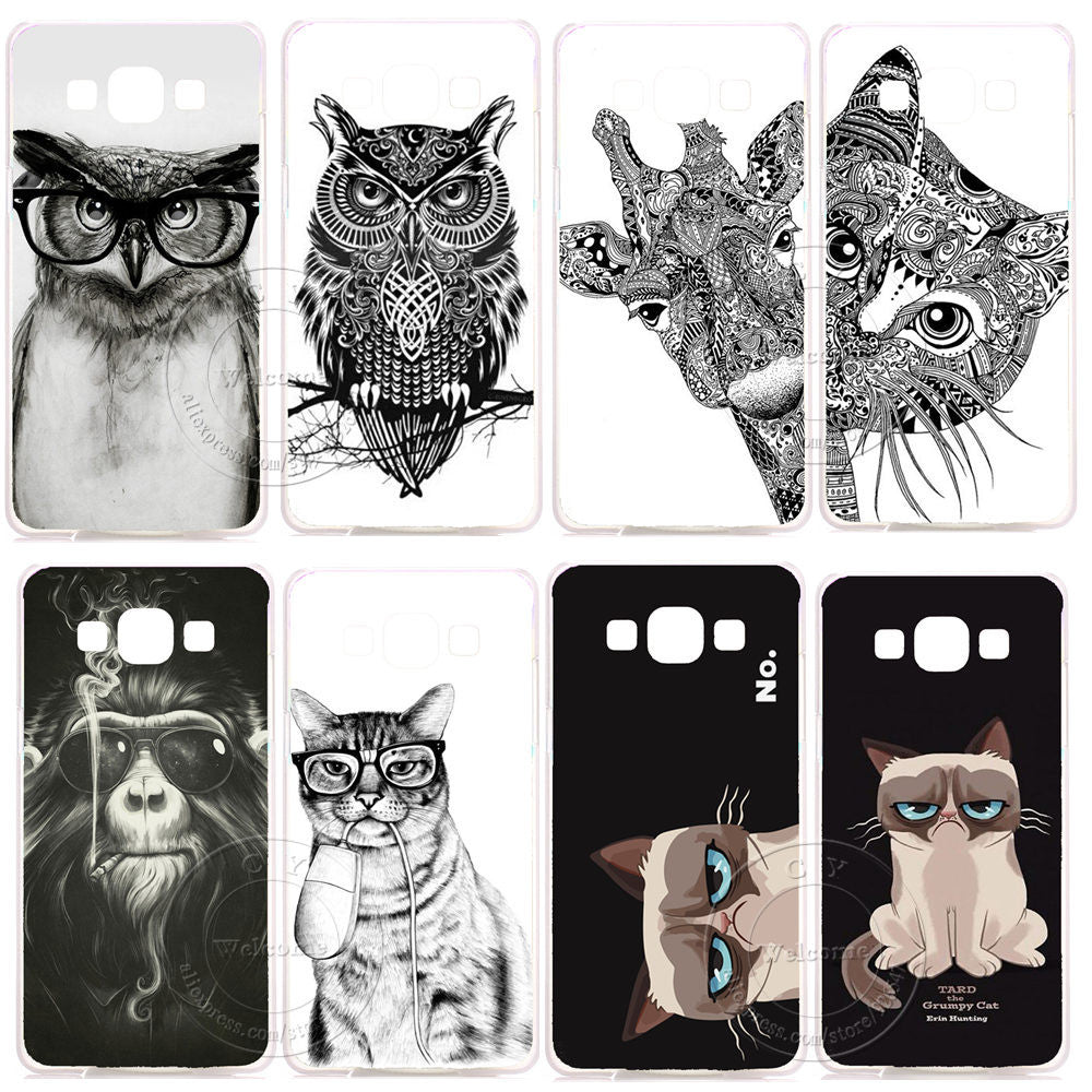 Cover case For Samsung Galaxy A3 A5 A7 A8 2015 A3100 A5100 A7100 2016 J1 J5 J7 J100 J500 J700 - awashdress