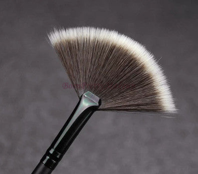 Slim Fan Shape Makeup Brush - awashdress