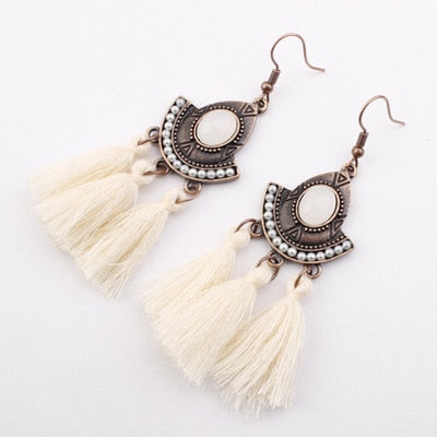 Drop Earrings Round Earrings