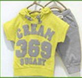short-sleeve T-shirt hoodies pant kids sport suit