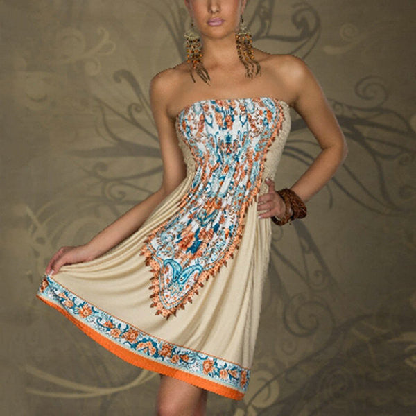 Boho Sundress - awashdress