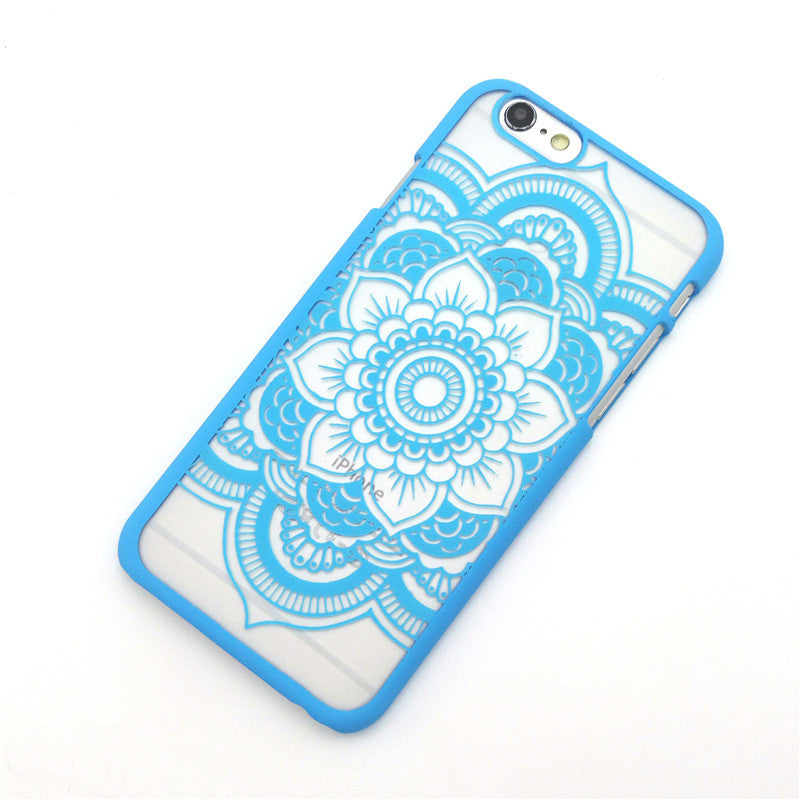 Beautiful Floral Henna Phone Cases Cover - awashdress