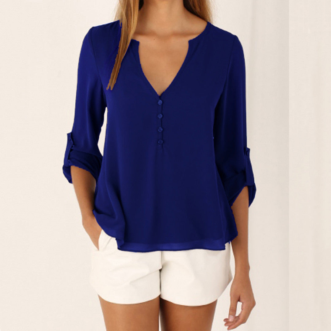 Women V-Neck top