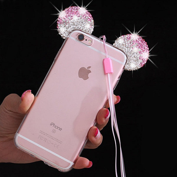 3d Mickey Mouse Ear Case For Iphone Phone Covers Awashdress