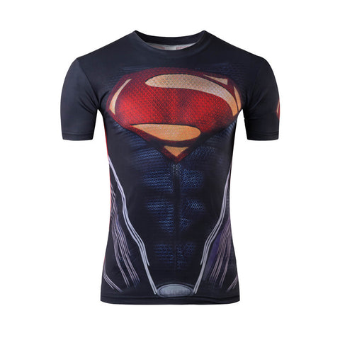 Captain America 3D Printed T-shirt