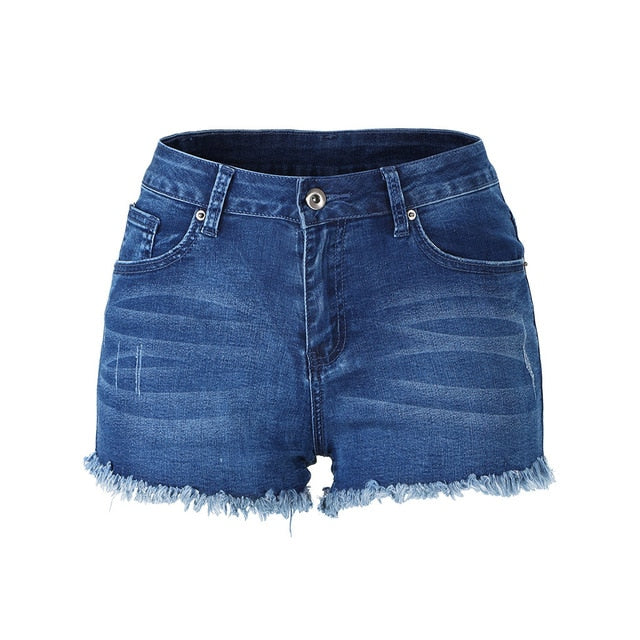 Stretch Short Denim Jean Short