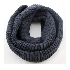 Unisex Winter knitted Scarves Wool Collar