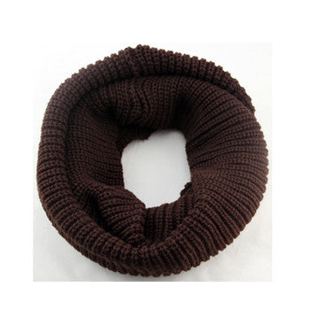 Unisex Winter knitted Scarves Wool Collar - awashdress