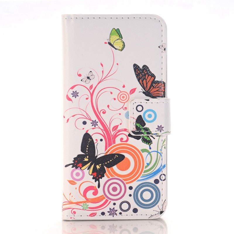 Flip Phone Case with Wallet Stand Cover for Samsung Galaxy A3 A7 A5 J5 J7 2015 2016 Core Grand G530 G360 S3 S4 S5 S6 S7 Edge