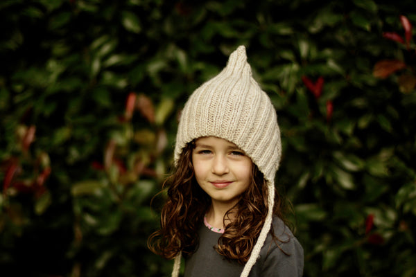 Chubby Pixie hat - Cream