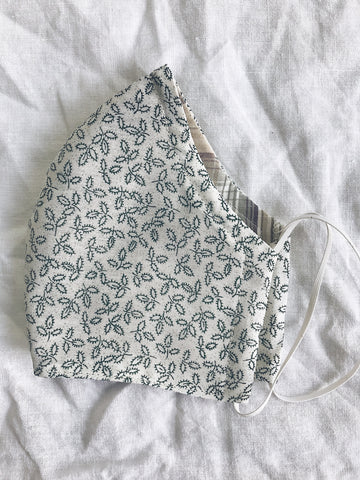 Exeter Masks Reusable Cloth Face Mask - Teeny Leaves