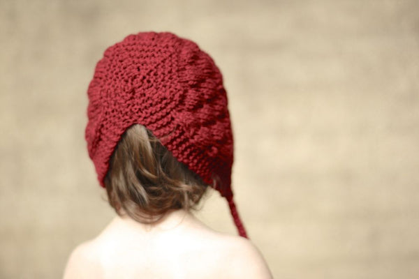 Bumpy Bonnet - Red