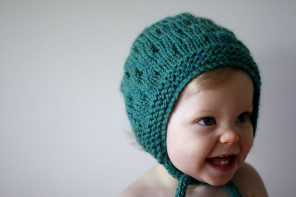 Bumpy Bonnet - Teal