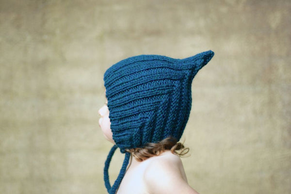 Chubby Pixie hat - Deep Sea