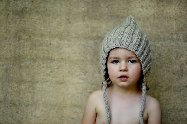 Chubby Pixie hat - Silver