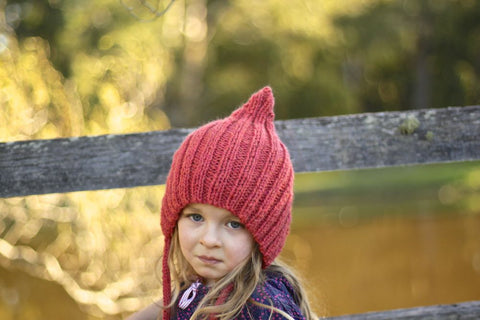 Chubby Pixie hat - Watermelon