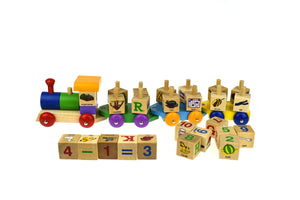 ABC Spin Block Train