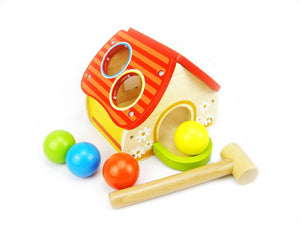 Wooden House Pounding Game