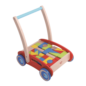 Baby Walker with Blocks by Tooky Toy from Cool Guppy