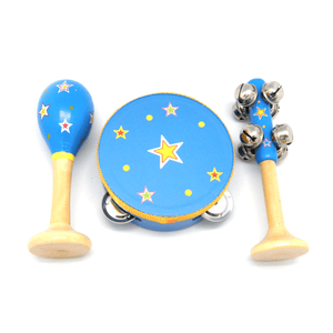 Blue Star Musical Set - 3 Pieces