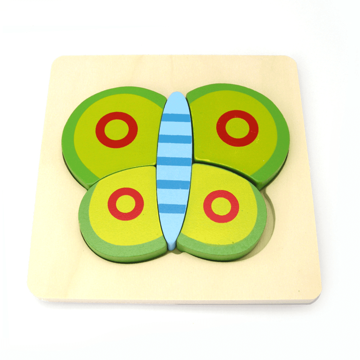 Butterfly Chunky Puzzle Kaper Kidz