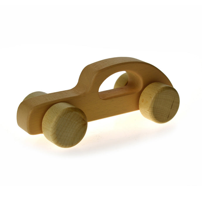 Calm & Breezy Wooden Car - Beige