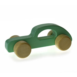 Calm & Breezy Wooden Car - Green