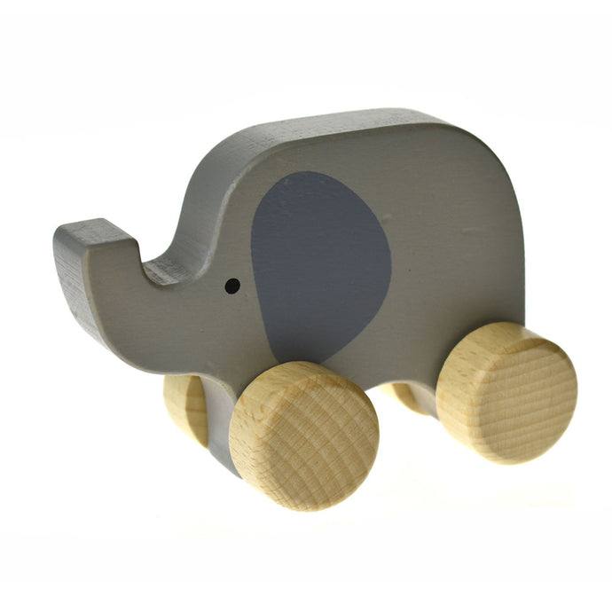 Calm and Breezy Wooden Elephant Car