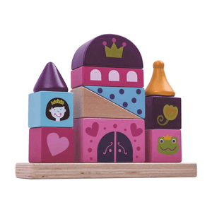 Castle Wooden Block Tower Tooky Toy