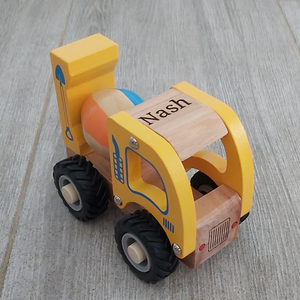 Personalised Wooden Cement Truck