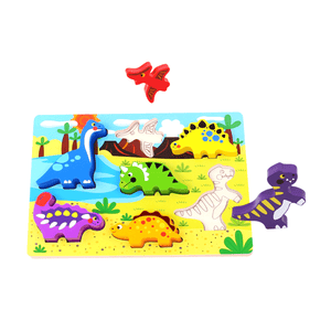Chunky Puzzle - Dinosaur Tooky Toy