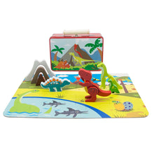 Dinosaur Playset With Carry Case